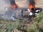 बांदा: UPSRTC की बस पर गिरा हाइटेंशन तार, लगी आग 4 की मौत, 24 घायल