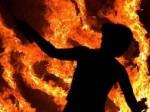 पत्नी से हुई लड़ाई, पति ने अपने दोनों बच्चों को जिंदा जला दिया