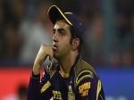 IPL 2017: हार के बाद गंभीर ने फैन्स को दिया इमोशनल मैसेज