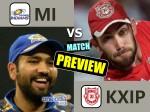 IPL Match Preview: मुंबई के खिलाफ पंजाब को रन और लक दोनों की जरूरत