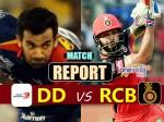 DDvRCB: दिल्ली को 10 रन से हराकर बेंगलुरू ने बचाई इज्जत