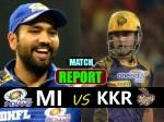 KKRvsMI: मुंबई ने कोलकाता को 9 रनों से हराया