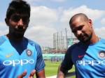 Video: मैच से पहले बुमराह ने गब्बर से जाना, पाक को कैसे देनी है पटखनी