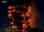 लंदन में 27 मंजिला बिल्डिंग में लगी भीषण आग, 12 लोगों की मौत