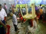 शिवराज सिंह के कार्यक्रम में आंधी से गिरा टेंट, 28 घायल,  खुद CM ने संभाला मोर्चा