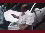 VIDEO: नारेबाजी से भड़के निर्दलीय विधायक ने भीड़ पर तान दी पिस्तौल