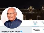 देश के नए महामहिम का आया पहला ट्वीट, मिनटों में हुए लाखों followers