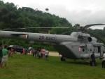 केंद्रीय गृह राज्य मंत्री किरण रिजिजू के हेलीकॉप्टर की आपात लैंडिंग, देखिए VIDEO