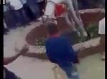 VIDEO: पटाखे की आवाज से बिदकी घोड़ी, दुल्हे समेत कुएं में गिरी