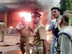 केरल में RSS-BJP दफ्तर में विस्फोट और आगजनी, CPM कार्यकर्ताओं पर आरोप