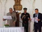 नागालैंड: विद्रोह के बीच टीआर जेलियांग ने ली सीएम पद की शपथ