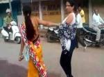 प्रेमिका को सड़क पर घसीटते हुए थाने ले गई पत्नी, पति को लोगों ने पीटा