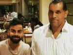'महाबली' खली से मिले विराट कोहली, वायरल हुई तस्वीर