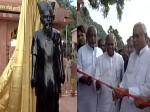 'माउंटेन मैन' मांझी की प्रतिमा का अनावरण कर नीतीश कुमार ने किया ये बड़ा ऐलान