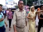VIDEO: कृष्ण की नगरी में यूपी पुलिस के खिलाफ महिला का हाई वोल्टेज ड्रामा