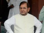 शरद यादव की राज्यसभा सदस्यता रद्द कराने को उपराष्ट्रपति के पास पहुंचे जदयू नेता