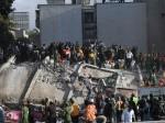 मेक्सिको भूकंप: स्कूल की इमारत गिरने से 20 बच्चों की मौत, 30 अब भी लापता