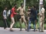 वाहन चेकिंग के दौरान यूपी पुलिस ने की चालक के साथ मारपीट और अवैध वसूली