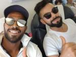 India vs Australia: ऑलराउंडर हार्दिक पंड्या ने कोहली संग शेयर की फोटो, लिखा- 'ऑफ टू चेन्नई'
