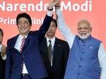 शिंजो आबे ने जमकर की मोदी की तारीफ, चीन को लगाई कड़ी फटकार
