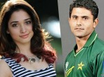 वायरल सच: तमन्ना भाटिया का पूर्व पाक क्रिकेटर अब्दुल रज्जाक से चल रहा है चक्कर?