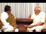 पीएम  ने अमिताभ  बच्चन को बताया  भारत  का  गौरव,  राष्ट्रपति ने भी  दी जन्मदिन की  बधाई