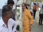 भाजपा नेता ने SSP ऑफिस में थूका पान मसाला, देखिए वीडियो