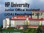 हिमाचल: जेओए भर्ती में इन 39 लोगों को मिली नौकरी, देखिए लिस्ट