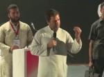 वडोदरा में बोले राहुल गांधी- मोदी जी का फोकस नौकरियों पर नहीं है
