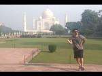 VIDEO: वायरल हुआ 'ताजमहल' पर विदेशी का इंटरनेशनल डांस, ASI को देनी पड़ी सफाई
