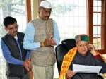 हिमाचल चुनाव: आचार संहिता लागू होने से ठीक पहले वीरभद्र ने किया शिलान्यास