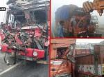 अलीगढ़ः कोहरे के चलते NH-92 पर तीन सड़क दुर्घटनाओं में 2 लोगों की मौत, 6 लोग घायल