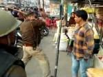 तिरंगा यात्रा निकालने पर पुलिस ने भाजपाइयों को जमकर पीटा, वीडियो