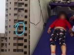 अकेली घर में बंद थी 4 साल की बच्ची, 10वीं मंजिल से गिरकर हुई मौत