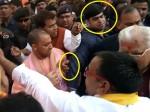 मथुरा में भीड़ को काबू करते वक्त सीएम योगी के साथ हुई ये घटना, श्रीकांत शर्मा बोले- जरा हद में रहो