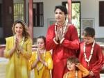 भारत में जस्टिन ट्रड्यू: भगवा कपड़ों में पीएम ट्रड्यू और फैमिली गए अक्षरधाम मंदिर