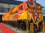 अमेरिका में बना लोकोमोटिव इंजन भारतीय रेलवे के बेड़े में शामिल
