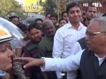 महिला सिपाही ने काटा भाजपा समर्थक की गाड़ी का चलान, भाजपा नेताओं ने दी नसीहत
