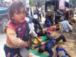 भयंकर सड़क हादसे में 3 की मौत व 11 घायल, मासूम को नहीं आई एक भी खरोंच
