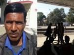 प्लेटफॉर्म पर स्टेशन मास्टर ने की यात्री की पिटाई, वीडियो वायरल