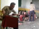 VIRAL VIDEO: शराब के नशे में धुत प्रिंसिपल पहुंच गया स्कूल, बच्चों को गाली दी और जमकर काटा बवाल