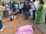सास और दामाद को तेज रफ्तार ट्रैक्टर ने कुचला, दोनों की मौके पर मौत