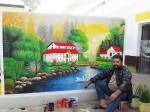 मुजफ्फरनगर जेल में कलाकार कैदी बनाता है जीवंत तस्वीरें, बीवी की वजह से काट रहा 10 साल की सजा