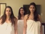 VIDEO: तौलिया बांधकर डांस कर रही थी एक्ट्रेस, गलत जगह लग गया हाथ और फिर...