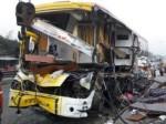 दिल्ली से मुजफ्फरपुर जा रही प्राइवेट एसी बस का यूपी में एक्सीडेंट, 5 की मौत