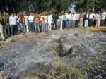 होलिका दहन के बाद राख के ढेर में मिली महिला की जली हुई लाश