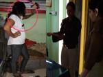 भाई के लिए SI से लड़ गईं मां-बेटी, महिला पुलिस की फाड़ दी वर्दी