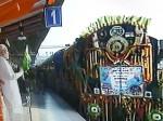 पीएम मोदी ने मंडुवाडीह-पटना के बीच चलने वाली ट्रेन को हरी झंडी दिखाई