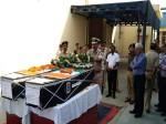 सुकमा हमले में शहीद जवानों का पार्थिव शरीर देख नम हो गईं आखें ,अधिकारियों ने दी श्रद्धांजलि