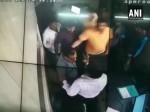 यूपी: बीजेपी नेता की गुंडई, बेटे के साथ मिलकर की टोल कर्मचारियों की पिटाई की, VIDEO वायरल